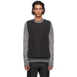 11 By Boris Bidjan Saberi Black Primaloft® Panelled Vest 201-BIB1BP-F1320