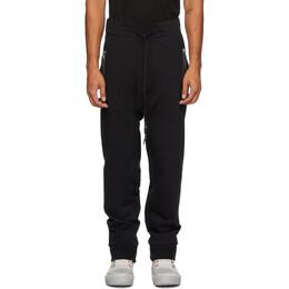 11 By Boris Bidjan Saberi Black Jersey Lounge Pants 132-P13-F1229
