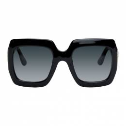 Gucci Black Thick Rectangular Sunglasses GG0053S