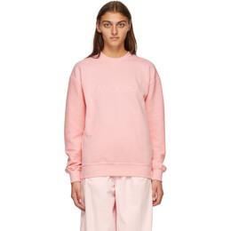 J.W. Anderson Pink Logo Sweatshirt JE0119-PG0247