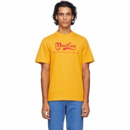 Martine Rose Yellow Probably The Best T-Shirt MRAW20-603C PHONOX T-
