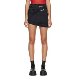 Misbhv Black Hagen Ring Miniskirt 120W135