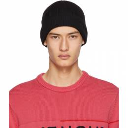 Givenchy Black Wool Embroidered Beanie BPZ00P P08A