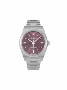 Rolex наручные часы Oyster Perpetual pre-owned 34 мм 2020-го года 114300
