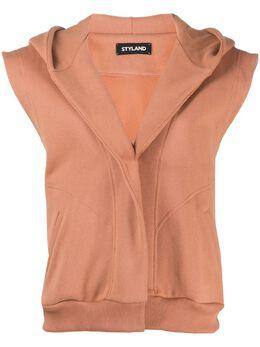 Styland куртка без рукавов с капюшоном MWT029203204