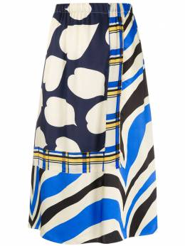 Marni юбка с принтом GOMA0346Q0TV802