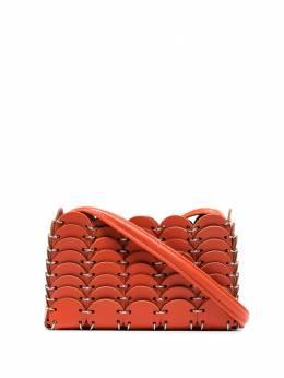 Paco Rabanne мини-сумка с металлической отделкой 20ASS0184CLF037