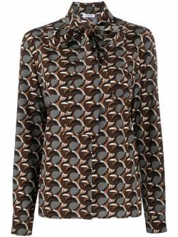 P.a.r.o.s.h. рубашка с геометричным принтом D380450SMANIA