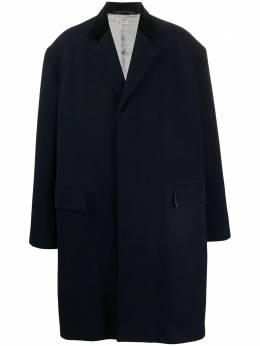 Marni однобортное пальто свободного кроя TUMU0066U0S53189