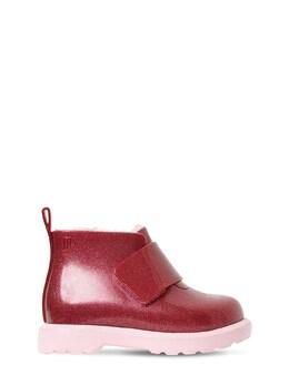 Scented Glitter Rubber Boots Mini Melissa 72I91Z003-NTM3NDk1