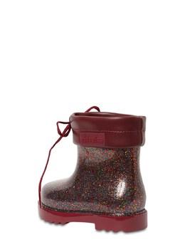 Scented Glitter Rubber Boots Mini Melissa 72I91Z002-NTM4MTk1