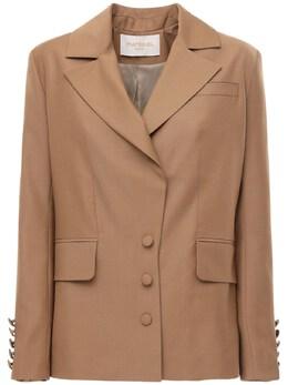 Cool Wool Blazer W/ Back Detail Materiel 71IXA6001-QkVJR0U1