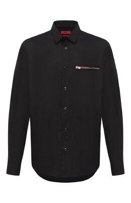 Хлопковая рубашка Hugo 50431931