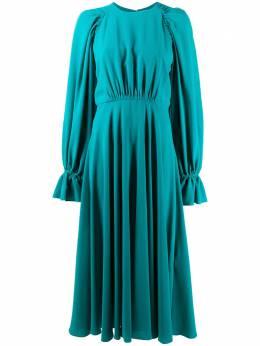 Roksanda платье миди Raima со сборками SS20H1718110