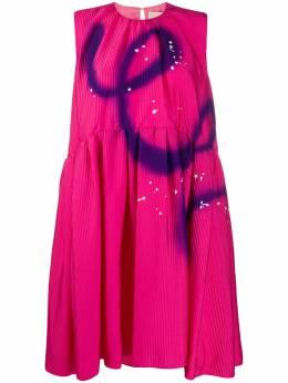 Roksanda расклешенное платье с эффектом разбрызганной краски SS20H171318