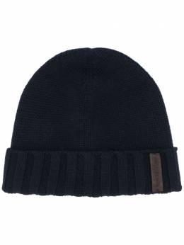 Ermenegildo Zegna кашемировая шапка бини Z8I31ZI9