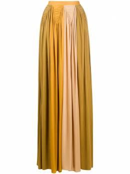 Roksanda юбка в стиле колор-блок с драпировкой SS20S40918