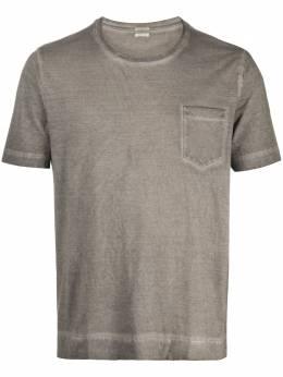 Massimo Alba футболка с карманом и круглым вырезом PANAREAJ0019