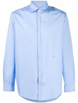 Massimo Alba рубашка с косым воротником и длинными рукавами GENOVAT4313