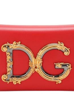 Dg Girls Small Barocco Leather Bag Dolce&Gabbana 72I0CE010-OEgzMTI1