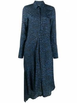 Christian Wijnants платье с абстрактным принтом DAYITA5007