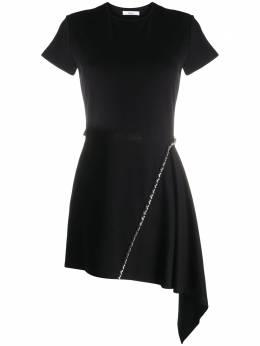 Area короткое платье-футболка асимметричного кроя PF20D23003CS
