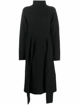 Christian Wijnants oversize front tie knit dress KHITI5051