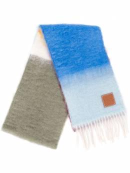 Loewe шарф с эффектом градиента F810487X15
