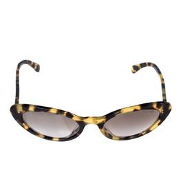 Miu Miu Light Brown Havana/Brown Gradient Smu09U Cat Eye Sunglasses 323178