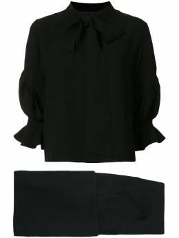 Saiid Kobeisy блузка с завязками CAPS2005