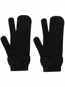 Maison Margiela перчатки Tabi с декоративной строчкой S50TS0028S17377