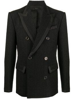 Amiri двубортный пиджак W0M12267BO