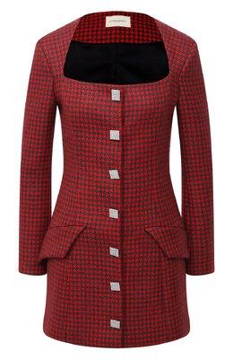Шерстяное платье Giuseppe Di Morabito PF20153DR-09-PDP