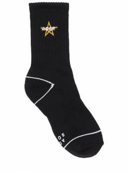 Хлопковые Носки С Вышивкой Ader Error 72IXQ0006-QkxBQ0s1