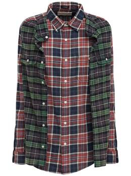 Рубашка Из Фланели В Клетку R13 72I3KH010-UkVEIEJMVUUgUExBSUQ1