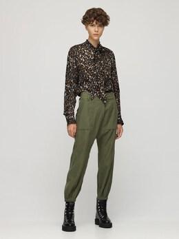 Атласная Рубашка С Завязками R13 72I3KH005-R1JFWSBPUkFOR0U1