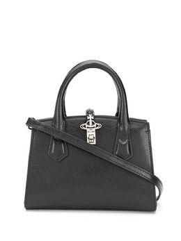 Vivienne Westwood сумка-тоут с металлическим логотипом 4201004640531LA
