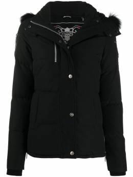Moose Knuckles стеганая куртка с капюшоном M30LJ172