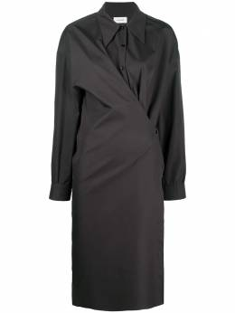 Lemaire twisted plain shirt dress W203DR254LF353