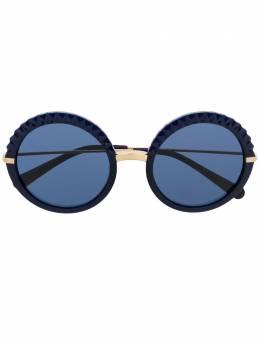 Dolce&Gabbana Eyewear солнцезащитные очки в круглой оправе DG61303048