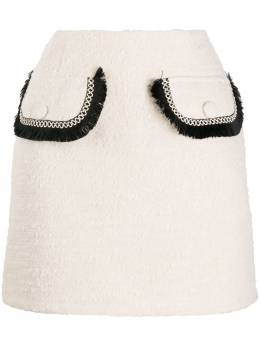 Blumarine юбка мини с карманами 22720