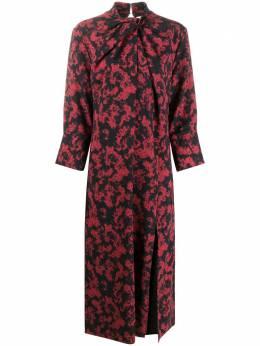 16Arlington платье миди Fujiko с драпировкой D084AW20FUJIKO