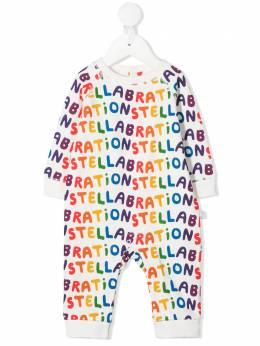 Stella McCartney Kids боди Stellabration 601031SPJ61