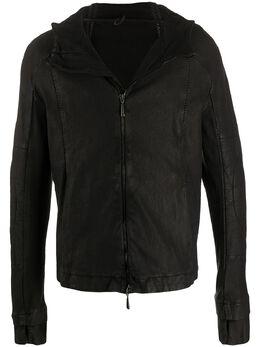Masnada куртка в технике пэчворк с капюшоном M2548