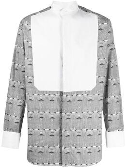Viktor & Rolf рубашка с длинными рукавами и принтом Folded Shirts MMSH091400