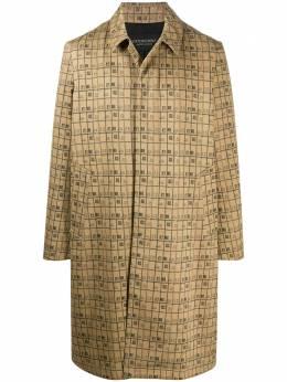 Viktor & Rolf однобортное пальто с графичным принтом MMO07SP1212