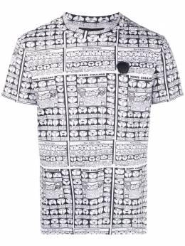 Viktor & Rolf футболка с принтом на воротнике MMJ02A911WHITE
