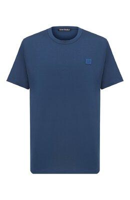 Хлопковая футболка Acne Studios 25E173/M