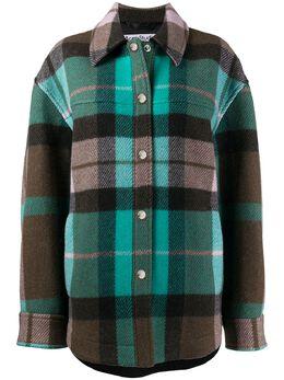 Acne Studios куртка-рубашка в клетку A90295
