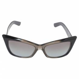 Yves Saint Laurent Paris Grey Degrade/ Grey 6337/S Cat Eye Sunglasses 325274